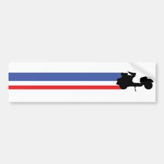 Mod Scooter Bumper Sticker