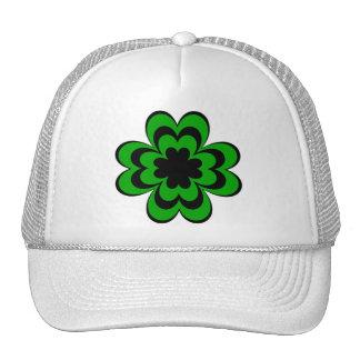 Mod Shamrock Mesh Hat