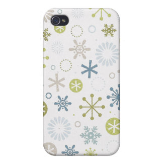 Mod Snowflakes Speck Case iPhone 4/4S Cases