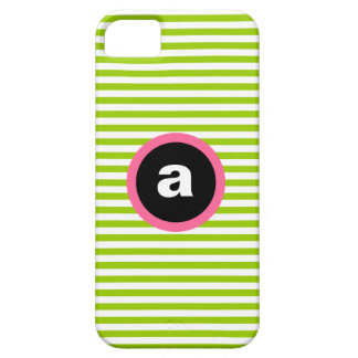 Mod Stripe iPhone 5/5S Case - Green