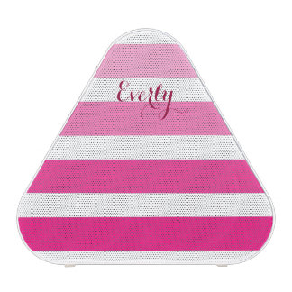 Mod Stripes Pretty in Pink Personalized