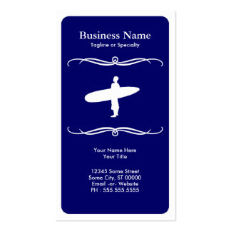 mod surfing pack of standard business cards