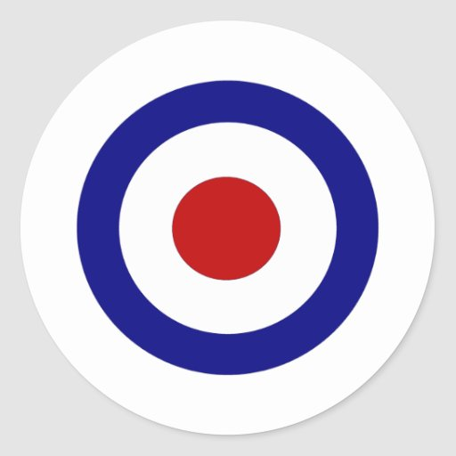 Mod Target Stickers