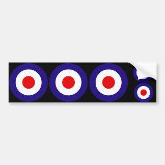 Mod Targets Bumper Sticker