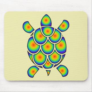 Mod Tye Dye Sea Turtle Mouse Pad
