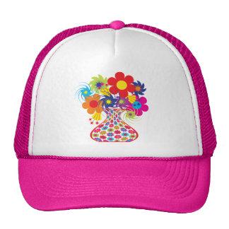 Mod Vased Floral Hat