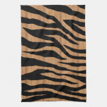 Mod Wood Zebra Kitchen Towels