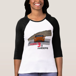 MODEL 3 - 3X AWESOME T-Shirt