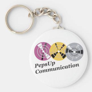Model: basic Carry-key Basic Round Button Key Ring