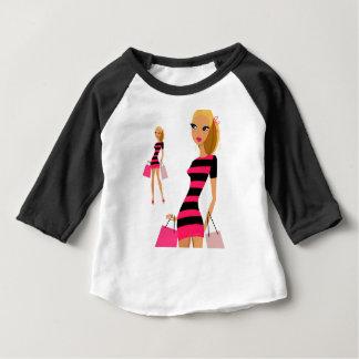 MODEL ILLUSTRATED GIRL : Creative t-shirts