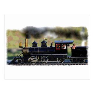 Model Locomotives Postcard