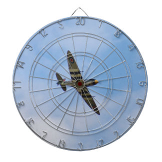 Model of Spitfire MK IX MK923 Dartboard
