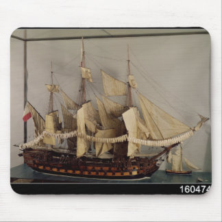 Model of the ship 'L'Achille' Mouse Pad
