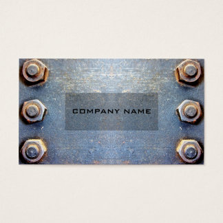 Model Old rusty metal Business Card