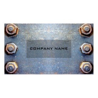 Model Old rusty metal Pack Of Standard Business Cards