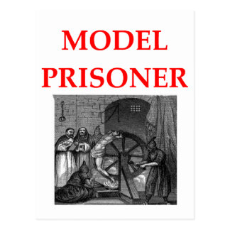model prisoner postcard