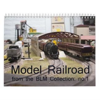 Model Railroad Calendar