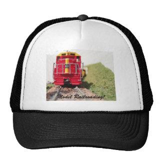 Model Railroading at it's Finest 2 Mesh Hats