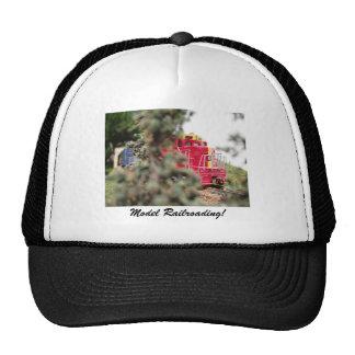 Model Railroading at it's Finest Mesh Hat