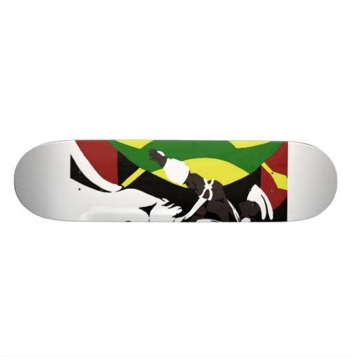 Model Reference Pin-Up 3 (Sketchbook Pro) Custom Skate Board