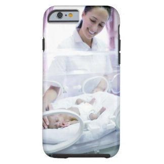MODEL RELEASED. Nurse and premature baby. Tough iPhone 6 Case