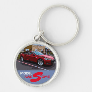 MODEL S - AWESOME KEY RING