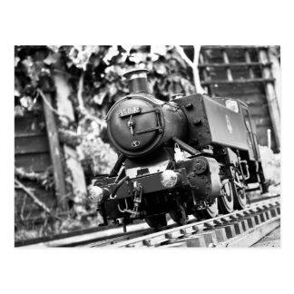 Model Steam Train Postcard