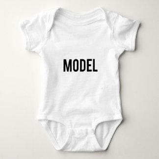 Model t baby bodysuit