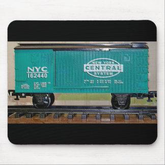 Model Train Box Car Mousepads