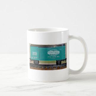 Model Train Box Car Coffee Mug