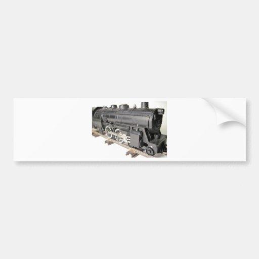 Model Train Engine Bumper Sticker