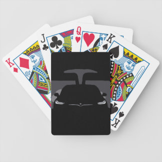 MODEL X - Darkness Bicycle Playing Cards