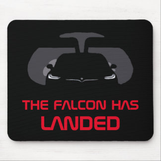 MODEL X - THE FALCON HAS LANDED MOUSE PAD