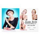 Model Zed Comp Cards Full Color Flyer