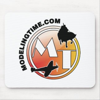 modeling time mouse pad