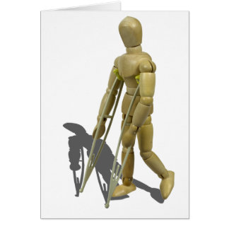 ModelWalkingWithCrutches110511 Card
