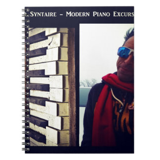 Moden Piano Excursions CD Cover Artwork Spiral Notebook