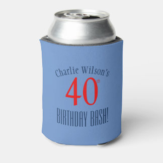 Modern 40th Birthday Bash! Party Can Cooler