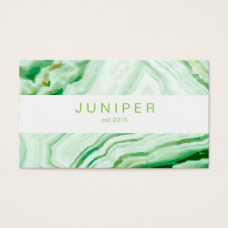 Modern Abstract Agate pattern Business Card