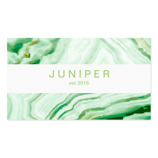 Modern Abstract Agate pattern Pack Of Standard Business Cards