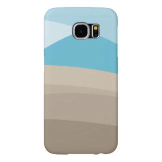 Modern Abstract beach Samsung Galaxy S6 Cases