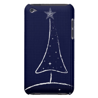 Modern Abstract Christmas Tree Barely There iPod Cases