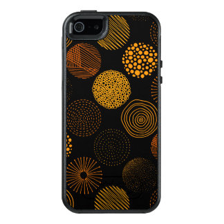 Modern Abstract Circle Pattern OtterBox iPhone 5/5s/SE Case