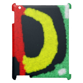 Modern abstract colorful pattern iPad covers