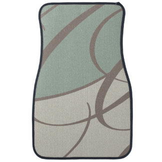 Modern Abstract Design Car Mat
