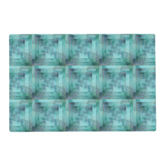 Modern Abstract Design Laminated Place Mat