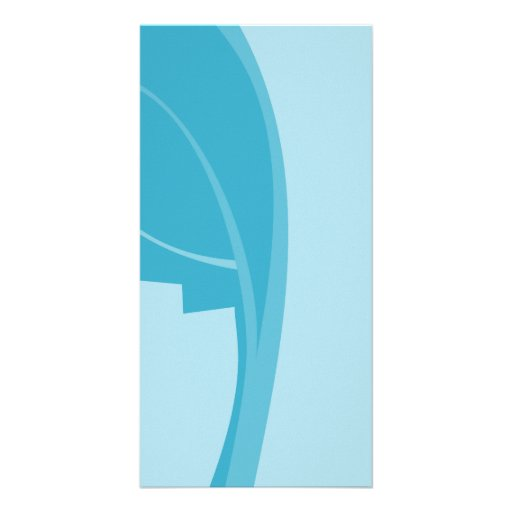Modern Abstract Design. Photo Card Template