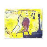 Modern Abstract Fine Art  Figure Canvas Prints