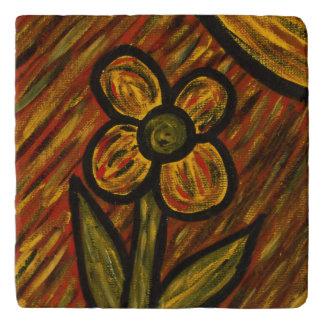 Modern Abstract Flower Trivet