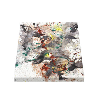 Modern Abstract Gallery Wrapped Canvas Print